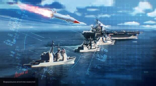 «Их невозможно сбить»: в США оценили последствия попадания ракеты «Циркон» в авианосец