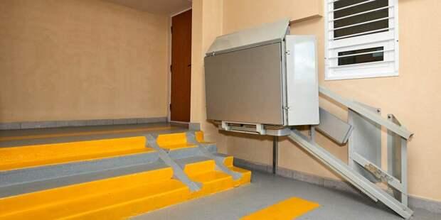 В Лефортове установят наклонную платформу для маломобильных граждан