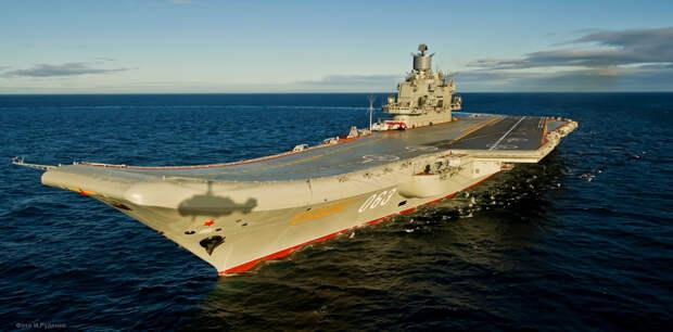В США назвали авианосец «Адмирал Кузнецов» «обременением эпохи холодной войны»