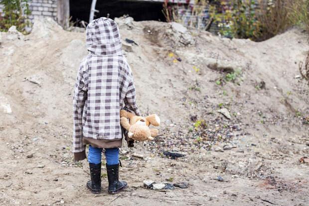 В российском городе обнаружили ребёнка-маугли