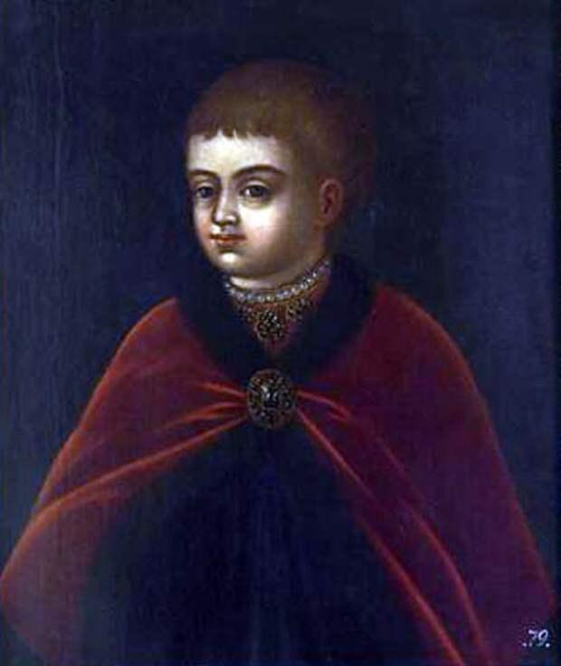 Юный Петр Великий, художник неизвестен. wikimedia