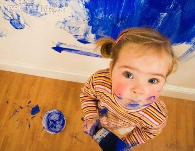 Обучение малышей рисованию