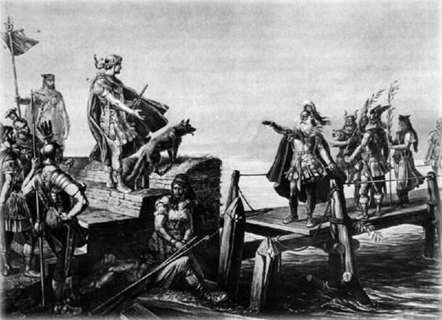 Борец с терроризмом Юлий Цезарь пираты, терроризм, цезарь