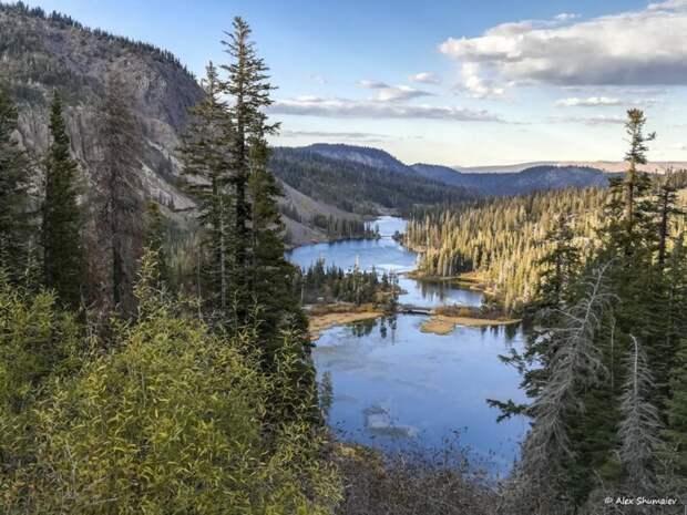"""Мамонтовые озера: заброшенная золотая шахта и американская """"Швейцария"""" со смертельно опасным душком видео, калифорния, путешествия, сша"""