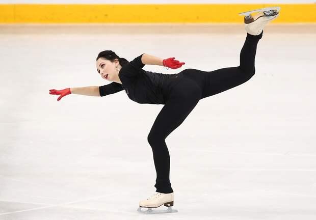 Елизавета Туктамышева натренировке исполнила новый четверной прыжок