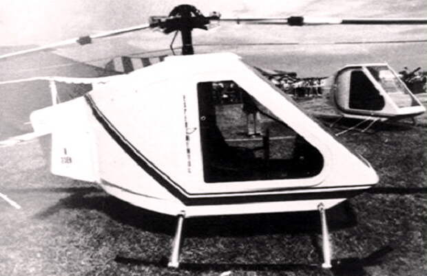 Прототип вертолёта Model-228 на местной выставке бизнесменов Аризоны, 1978 год - Нетрадиционная любовь Бруно Наглера | Warspot.ru