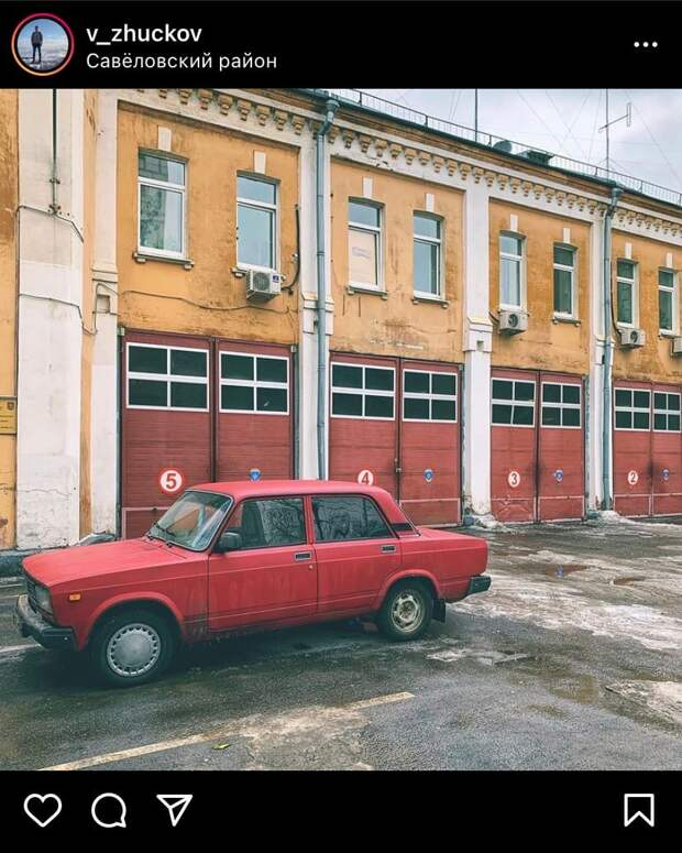 Фото дня: савеловский антураж