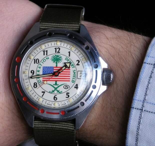 Спецзаказ для американских ветеранов войны. | Фото: orologiko.it.