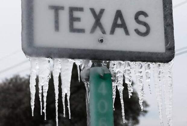 Американцы считают, что морозы в Техасе — это дело рук Москвы, применившей климатическое оружие