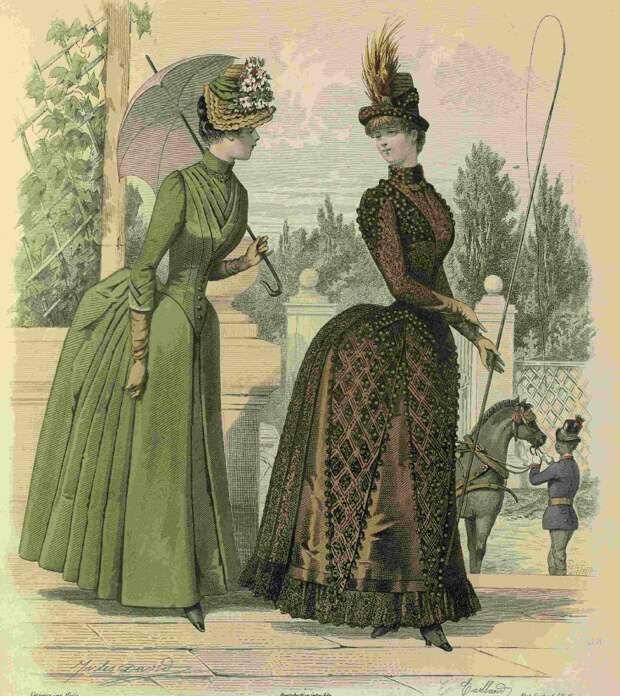 Мода год за годом. 1885 год. Часть 3