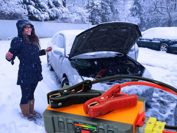 Как заводить машину в мороз?