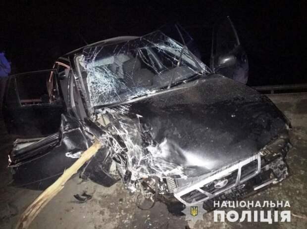 Смертельное ДТП в Запорожской области