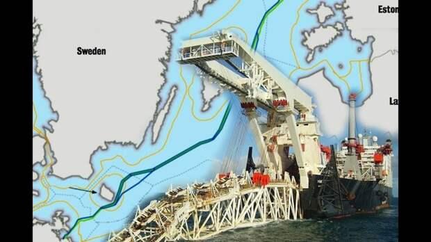 Сами же поплатились: теперь Дании жизненно необходим российский газопровод