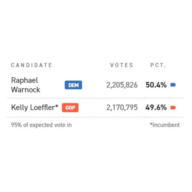 Выборы в Джорджии