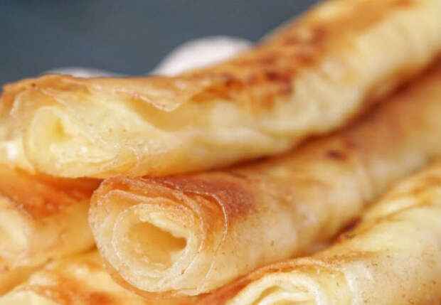 Трубочки из лаваша и творога: еда на утро за считанные минуты