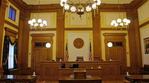 Зал судебных заседаний в Портленде, США - РИА Новости, 1920, 30.09.2020