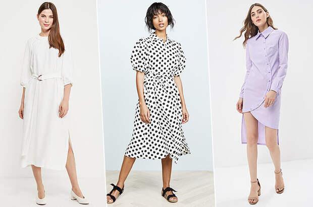 Подборка модных летних платьев на работу