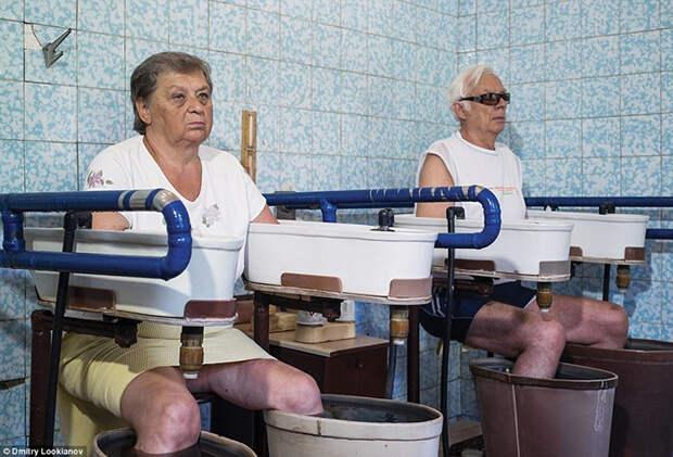 Минеральные ванны для рук и ног.