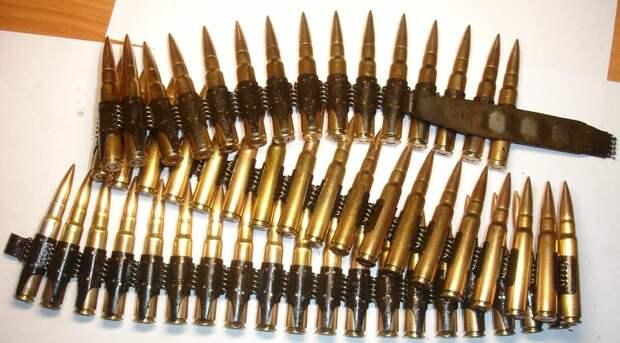 Для чего советские солдаты собирали немецкие пулеметные ленты