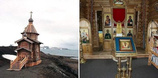 Церковь Святой Троицы (2004), Ватерлоо, Антарктика.