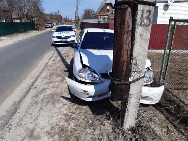 61-летний мужчина пострадал в результате наезда на опору ЛЭП в Клепиковском районе
