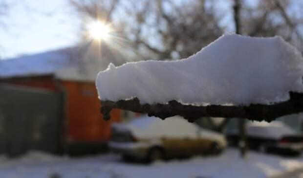 ВСвердловской области ожидается потепление до+3 градусов