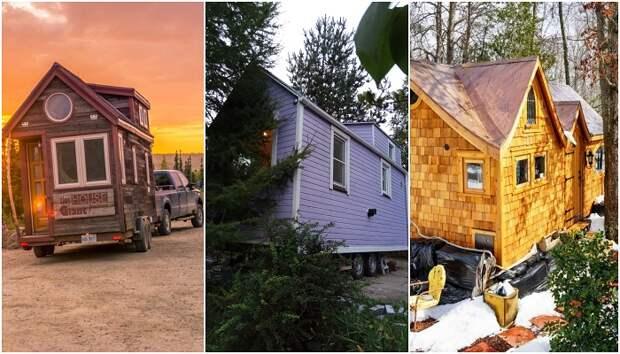 8 реальных примеров, как можно счастливо жить в доме размером с крошечную спальню