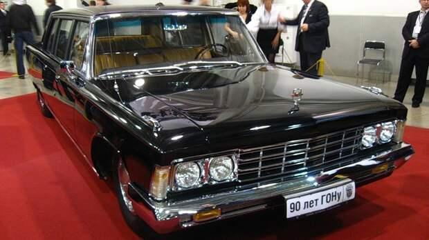 ЗИЛ-114 – первый советский лимузин, сделанный по проекту советских дизайнеров