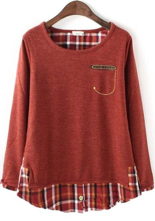 Переделка клетчатых рубашек (подборка)
