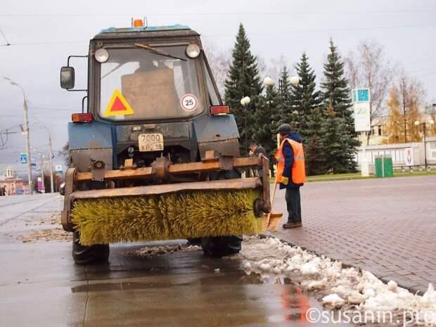 Глава Ижевска: город готов к зимнему содержанию дорог