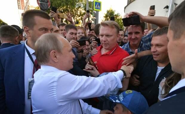 Встреча с жителями города. 9 июля 2019 года, Екатеринбург