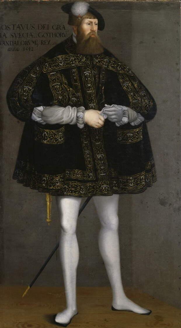 Густав I Васа, король Швеции. upload.wikimedia.org - Нарвское плавание: «гнев на всю их землю…» | Warspot.ru