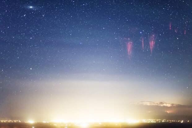 Восходящие молнии — как часть глобальной планетарной электрической цепи