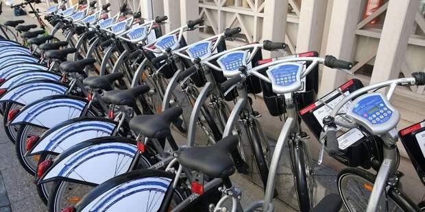 Москвичи стали чаще использовать велосипеды вместо автомобилей