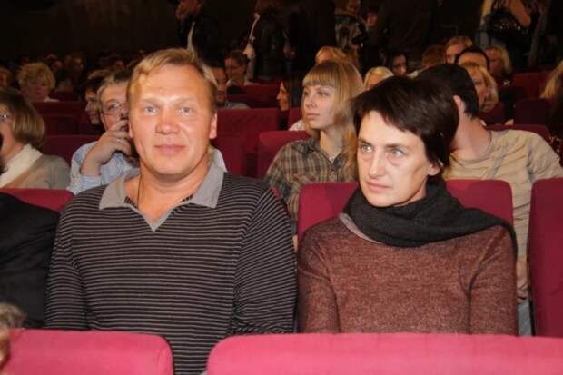 Анатолий Журавлев с Натальей Дубонос