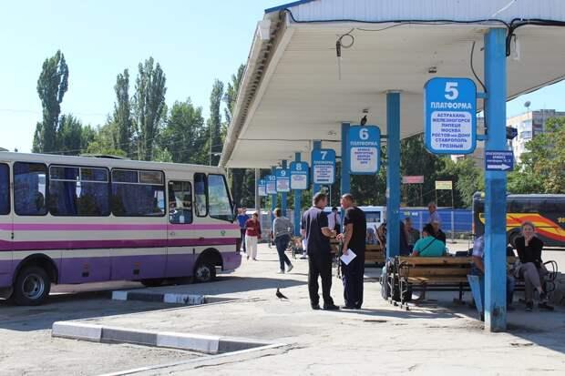 Сегодня возобновляется автобусное сообщение между Крымом и материком