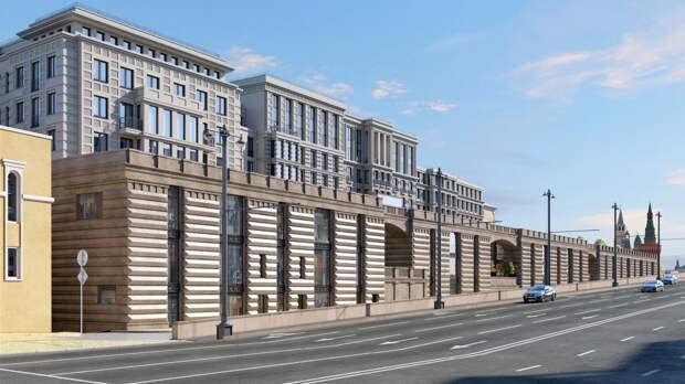 Антосенко назвал срок ввода в Москве гостиничного комплекса «Царев сад»