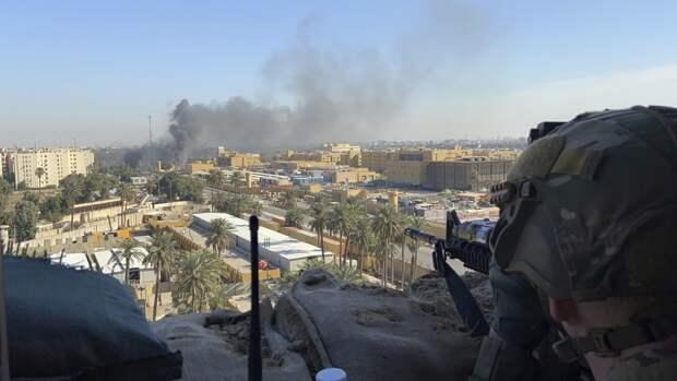 Бойцы Международной коалиции в Ираке