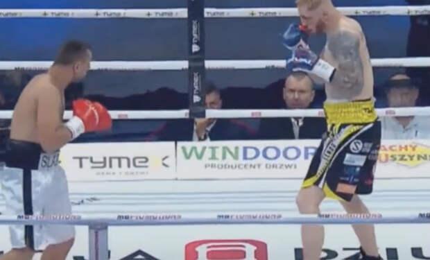 Боксер был в нокдауне 5 раз
