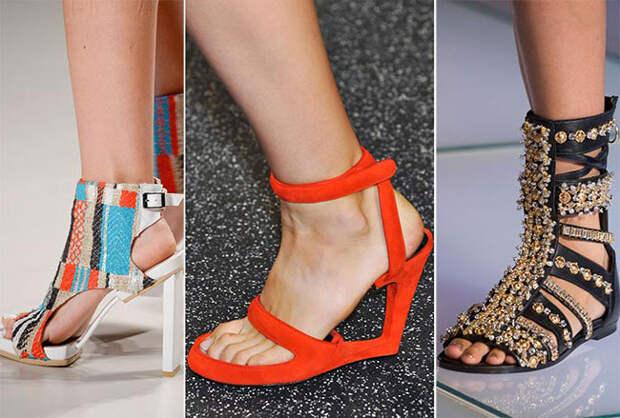 Изощренные модели туфель - тенденции весна-лето 2015