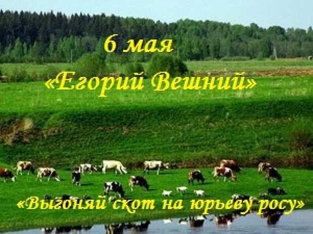 6 мая - Народно-христианский праздник Егорий Вешний.