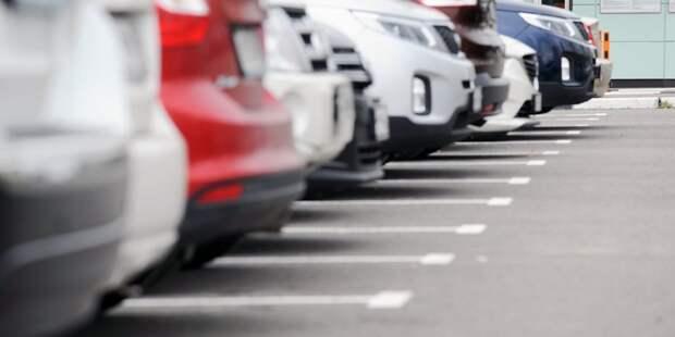 На Строгинском бульваре планируется бесплатная стоянка для жителей домов — управа