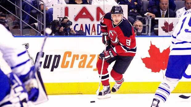 Великий матч русского хоккеиста Могильного. Он повторил рекорды Гретцки и Лемье, набрав 5 очков в игре плей-офф НХЛ