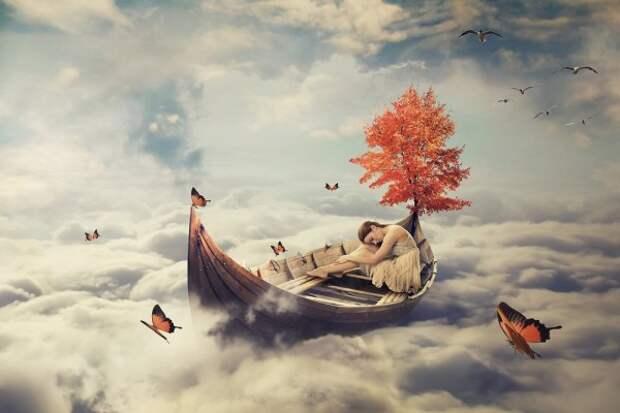 Осознанные сновидения излечивают от кошмаров.