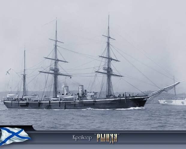 """Крейсер """"Варяг"""". Бой у Чемульпо 27 января 1904 года"""