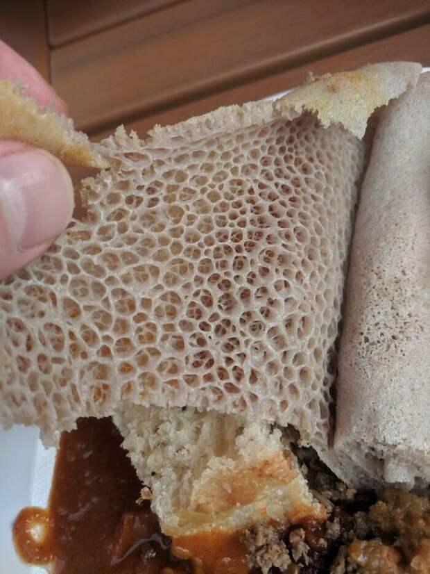 22. Традиционный эфиопский хлеб инджера