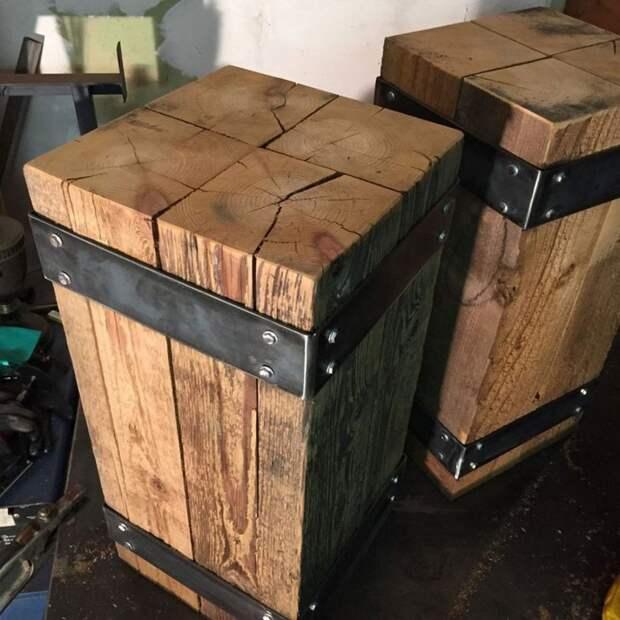 Идеи для дома и дачи. Мебель и предметы интерьера в стиле Industrial