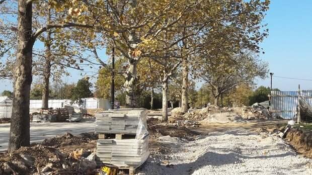 В Севастополе провалили ремонт парка за миллиард