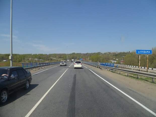 Движение по мостам через реки Шава и Кудьма на трассе М-7 временно ограничат