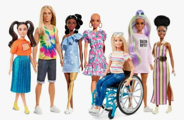 Сегодня можно найти какую угодно Барби.